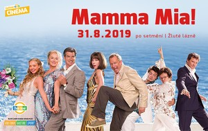 Letní kino Yellow Cinema - Mamma Mia!